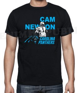 PANTHERS Black Mens T Shirt Carolina New Football Tee Fans Novelty CAM NEWTON Fashion Style Men