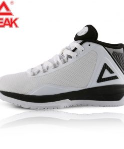PEAK Basketball Shoes TONY PARKER Professional Cushioning Sole Breathable Air Mesh Safety Basketball Sneakers for Kids