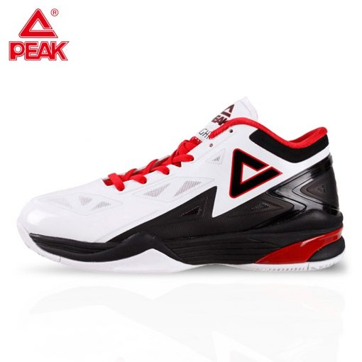 PEAK Men s Basketball Shoes Breathable Cushioning Non Slip Wearable Sports Shoes Gym Training Athletic Basketball
