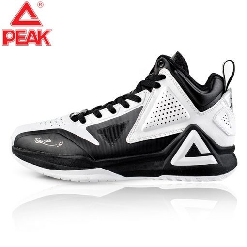 PEAK Men s TONY PARKER I Basketball Shoes Male Street Basketball Culture Sports Shoes Professional Damping