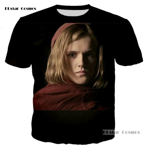 PLstar Cosmos brand Game of Thrones Laianna 3D fashion printing T shirt men and women neutral 1