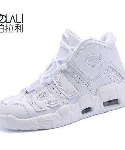 POLALI Brand Basketball Shoes Men High top Sports Air Cushion Jordan Hombre Athletic Mens Shoes Comfortable 2