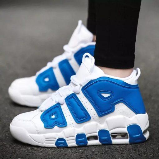 POLALI Brand Basketball Shoes Men High top Sports Air Cushion Jordan Hombre Athletic Mens Shoes Comfortable