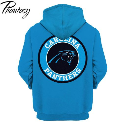 Phantasy 2020 Hoodies Sweatshirt For Men Women New Design Tracksuit Hoodies Carolina Panthers 3D Hoodies 1