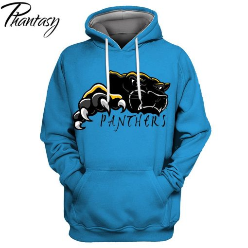 Phantasy 2020 Hoodies Sweatshirt For Men Women New Design Tracksuit Hoodies Carolina Panthers 3D Hoodies