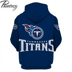 Phantasy 2020 New Fashion Autumn Hooded Sweatshirt Tennessee Titans Men s Tennessee American Football Sweatshirt 1