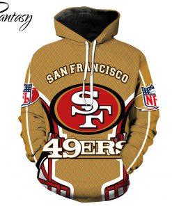Phantasy 2020 San Francisco 49ers Hoodies Men American Football Sweatshirt 3D Print Rugby Football Hoodies Sweatshirt
