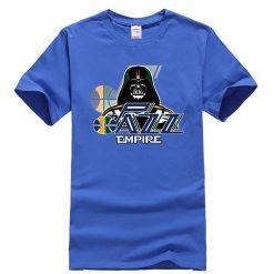 Phiking New jazz Empire T shirt Darth Vader Utah T Shirt 1