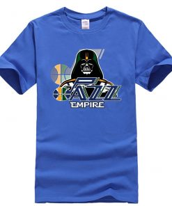 Phiking New jazz Empire T shirt Darth Vader Utah T Shirt 1