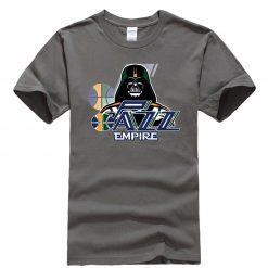 Phiking New jazz Empire T shirt Darth Vader Utah T Shirt 2