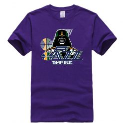 Phiking New jazz Empire T shirt Darth Vader Utah T Shirt 5