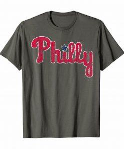 Philadelphia Baseball Vintage Philly PA Classic Fan Tshirt TShirt