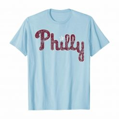 Philadelphia Baseball Vintage Philly PA Retro Fan Tshirt
