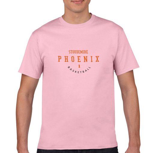 Phoenix Suns 1 Amar e Stoudemire Spoiled Child Basketball Fans Wear Nostalgic Man Casual T shirt 4