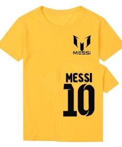 Pkorli Barcelona MESSI Men T Shirt Cotton Short Sleeve Casual Men S T Shirts Summer Messi 3