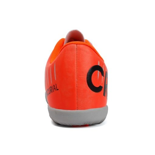 Popular Style Men s cr7 Soccer Shoes Turf Children Football Boots Lace Up Ronaldo Football Boots 2