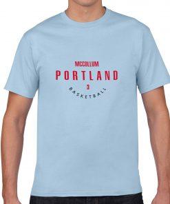 Portland Trail Blazers Number 3 C J McCollum 2019 best selling New men s COTTON Short 1