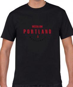 Portland Trail Blazers Number 3 C J McCollum 2019 best selling New men s COTTON Short 2