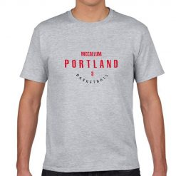 Portland Trail Blazers Number 3 C J McCollum 2019 best selling New men s COTTON Short