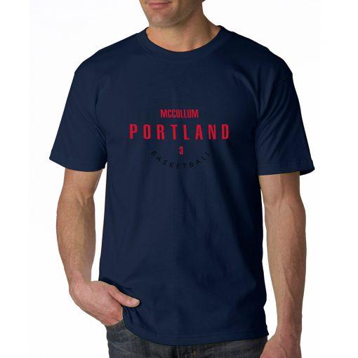 Portland Trail Blazers Number 3 C J McCollum 2019 best selling New men s COTTON Short 5