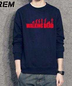 REM brand evolution walking dead dunk Sweatshirts cotton men long sleeve boy casual homme Hoodies tops 4