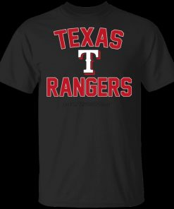 Rangers T Shirtrangers Baseball Tee Shirt Short Sleeve S 5Xl