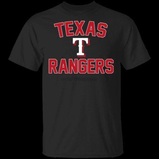Rangers T Shirtrangers Baseball Tee Shirt Short Sleeve S 5Xl