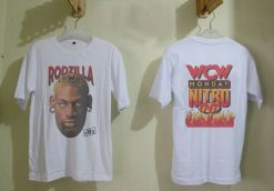 Rare Vintage Shirt 90 S Dennis Rodman 1997 Rodzilla Chicago Bulls Size S 3Xl