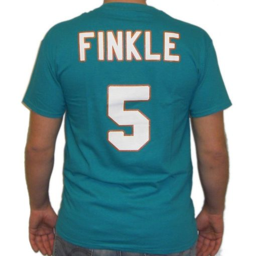Ray Finkle Miami Jersey T Shirt Ace Ventura Movie Jim Carrey Football 5 Dolphins 100 Cotton