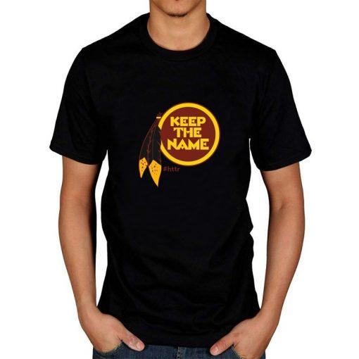 Redskins Keep The Name Women S Cartoon Graphic Fashion T Shirt Kawaii Tshirts Cartoon Female Printed