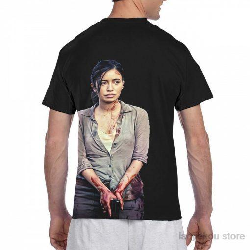 Rosita The Walking Dead men T Shirt women all over print fashion girl t shirt boy 1