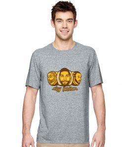 San Antonio Spurs Manu Ginobili Tim Duncan Tony Parker Basketball Jersey Tee Shirts Ring Robort Cartoon 3