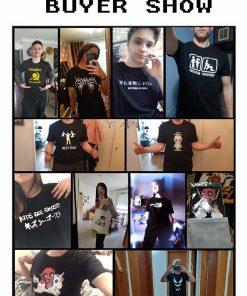 San Streetwear Harajuku Francisco 100 Cotton Men s T Shirt 49Ers Friday The 13Th T Shirts 4
