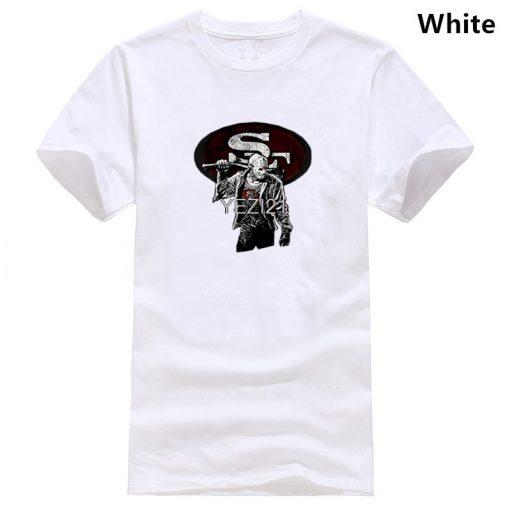 San Streetwear Harajuku Francisco 100 Cotton Men s T Shirt 49Ers Friday The 13Th T Shirts