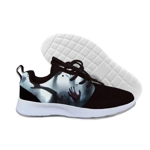 Shoes Men 2019 3D Print Men Women Hip Hop Harajuku Halloween Walking Dead Sneakers Unisex Casual 1