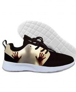 Shoes Men 2019 3D Print Men Women Hip Hop Harajuku Halloween Walking Dead Sneakers Unisex Casual