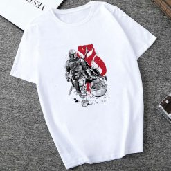 Showtly 2019 Cool STAR WARS Men Women Clown Cute Tiny Yoda Kids Printed T shirt Fantastic 1