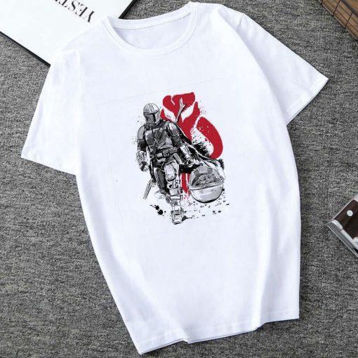 Showtly 2019 Cool STAR WARS Men Women Clown Cute Tiny Yoda Kids Printed T shirt Fantastic 1