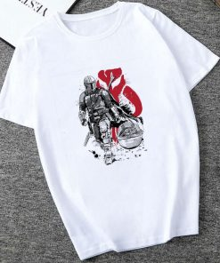 Showtly 2019 Cool STAR WARS Men Women Cute Tiny Yoda Kids Printed T shirt Fantastic Mandalorian