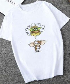 Showtly The Mandalorian Baby Yoda Sweatshirt Men Women Star Wars TV Series T shirt 90S Science 3