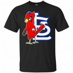 St Cardinal Louis Baseball Mascot T Shirt For Men Women S 3Xl Present Casual Tee Shirt