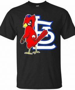 St Cardinal Louis Baseball Mascot T Shirt For Men Women S 3Xl Present Casual Tee Shirt