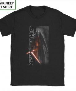 Star Wars Episode T shirt Men The Force Awakens Kylo Ren Shadows T Shirt Man Normal 1