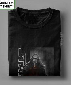 Star Wars Episode T shirt Men The Force Awakens Kylo Ren Shadows T Shirt Man Normal 2