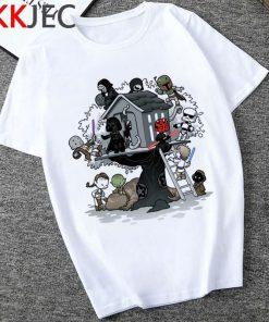 Star Wars Kylo Ren Cool T Shirt Men Funny Cartoon The Rise of Walker T shirt 2