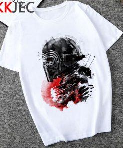 Star Wars Kylo Ren Cool T Shirt Men Funny Cartoon The Rise of Walker T shirt