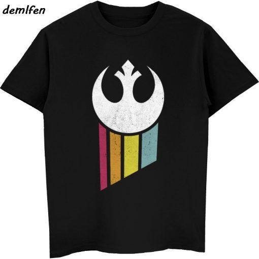 Star Wars Poster Stamp T Shirt Princess Leia Darth Vader Yoda Chewbacca Funny Tshirt Star Wars 1