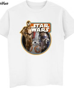 Star Wars Poster Stamp T Shirt Princess Leia Darth Vader Yoda Chewbacca Funny Tshirt Star Wars 2