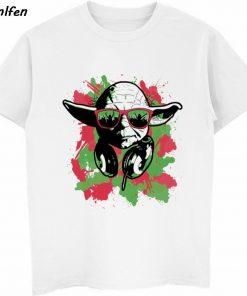 Star Wars Poster Stamp T Shirt Princess Leia Darth Vader Yoda Chewbacca Funny Tshirt Star Wars 5