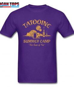 Star Wars T Shirt For Men Summer T shirt Two Suns of Fun Darth Vader Tshirt 1